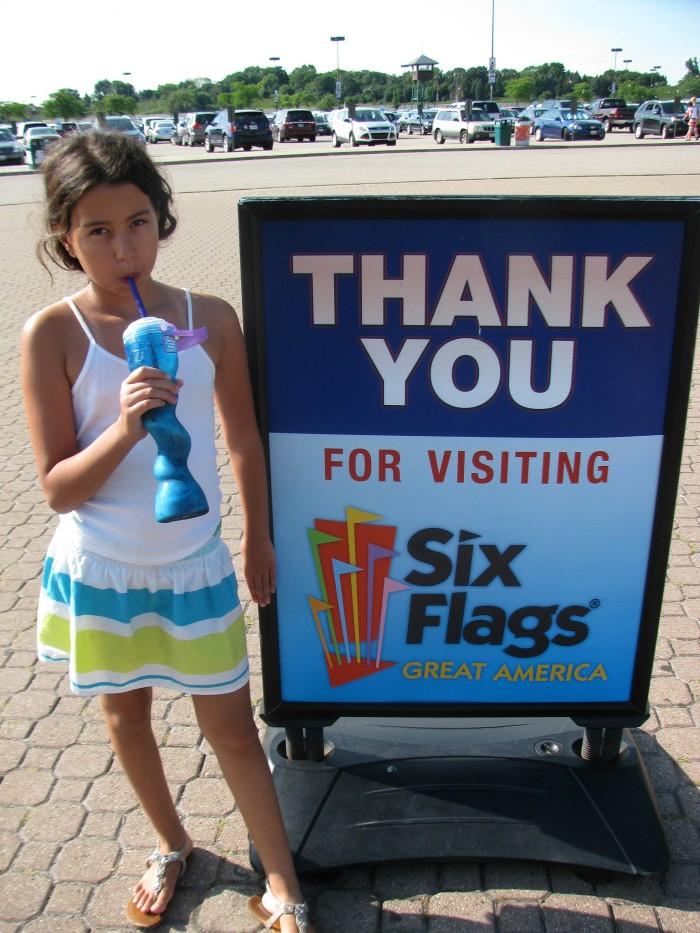 7. Six Flags Great America