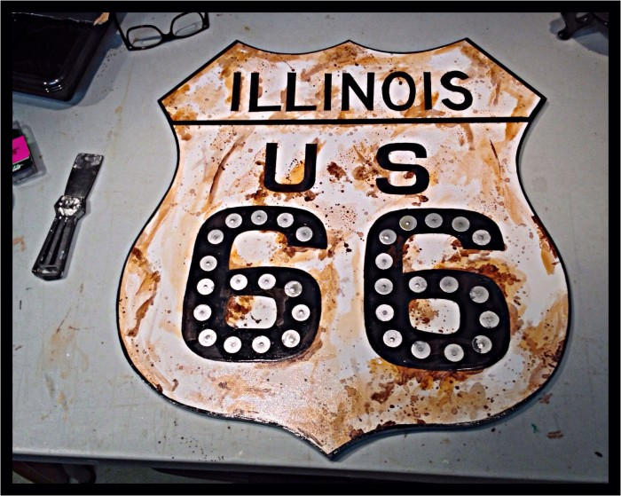 3. Route 66 starts here.