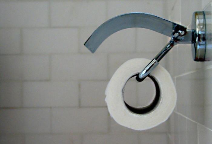 4. Toilet paper