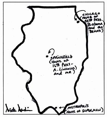 3. Senator Dick Durbin draws?