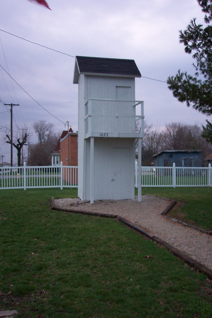 1. Two-Story Outhouse