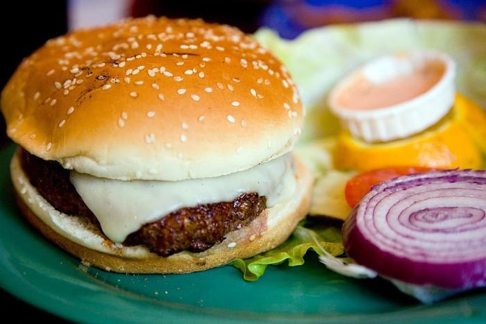 7. The hamburger