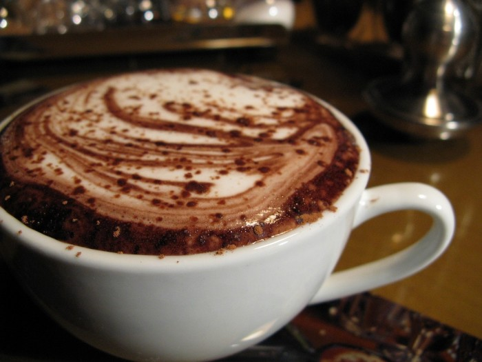 9. Winter means guilt-free indulgences in things like hot cocoa and sweet treats.