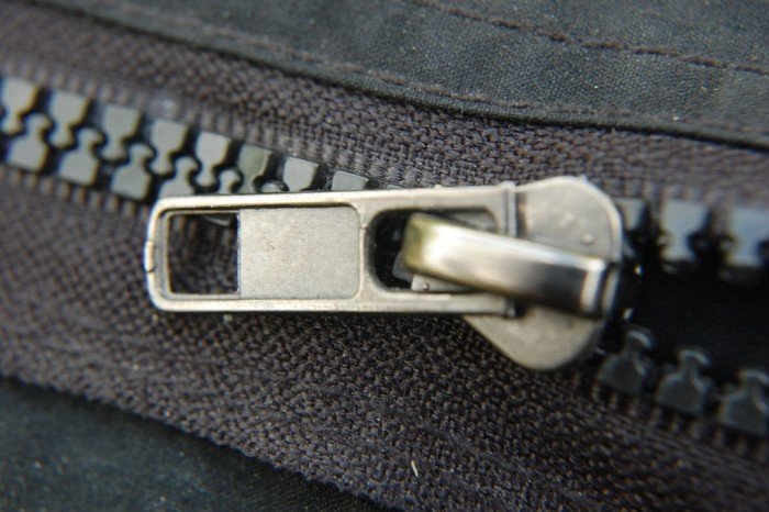 2. Zippers