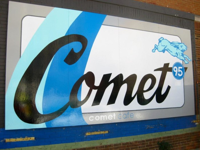 3. The Comet Cafe