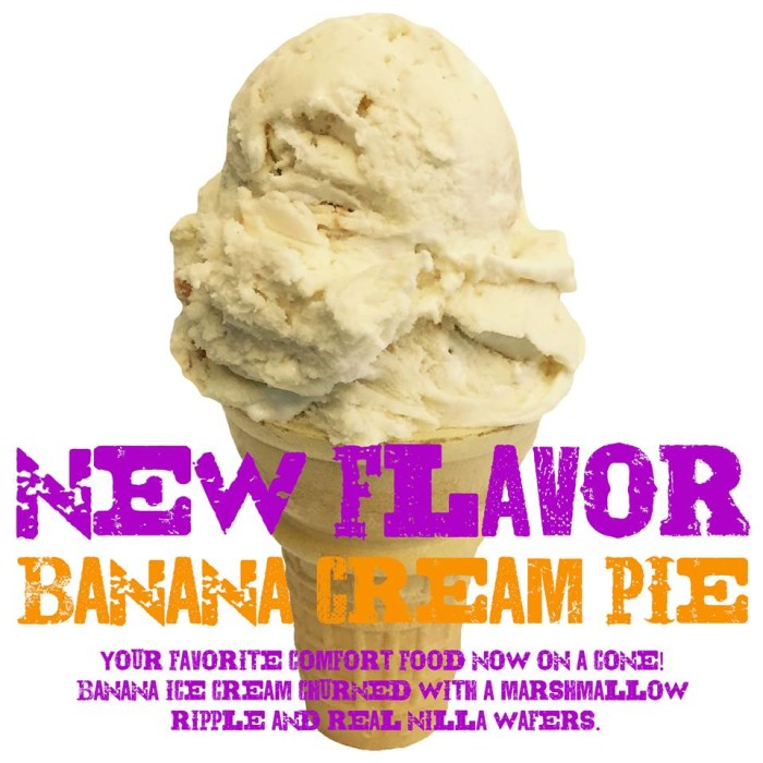 3. Banana Cream Pie Ice Cream