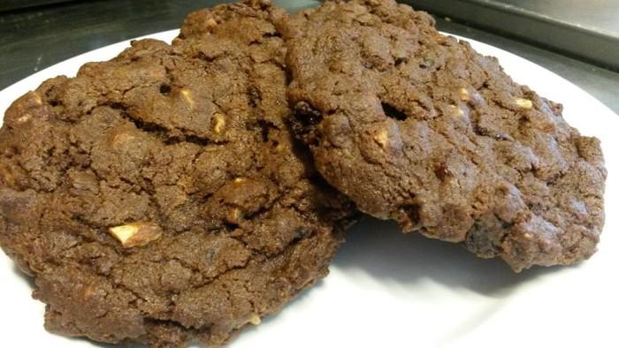 8. Fudge Cherry Almond Cookies