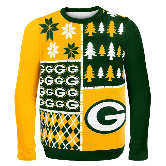 1. Ugly Packers Christmas Sweater