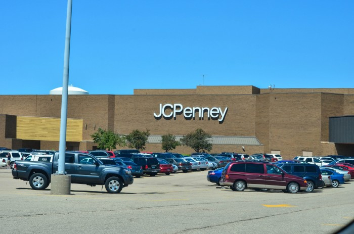 8. We shopped in stores.