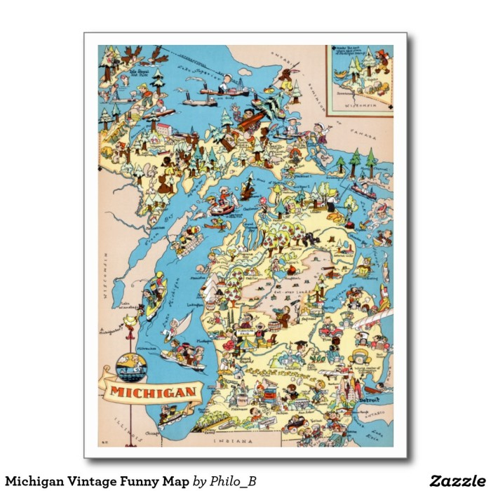 Maps Of Michigan That Are Just Too Perfect And Hilarious - Michigan maps