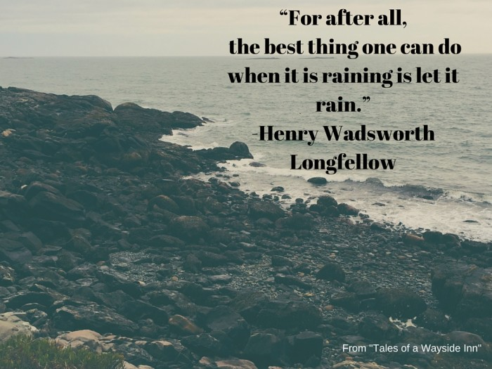 5. Poetry, or more specifically, Longfellow.