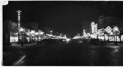 5. Downtown Grand Junction (1946).