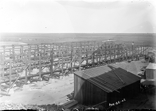 "7. ""Beet sheds at Holly, Colo."""