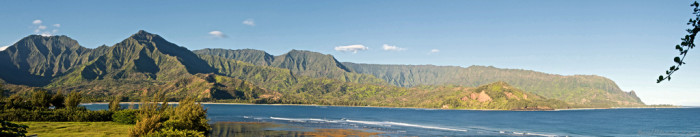 1) Hanalei Bay has appeared in South Pacific, The Descendents, and Lilo & Stitch.