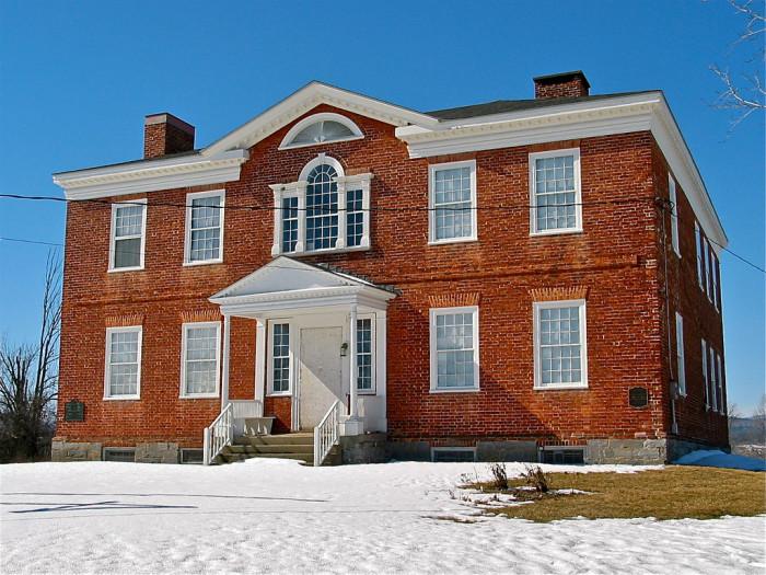 1.  John Strong Mansion – Addison.