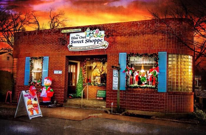 1.The Blue Owl Sweet Shoppe, Kimmswick