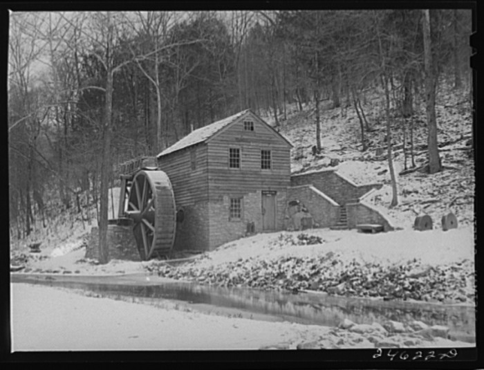 10) An old mill located in Norris