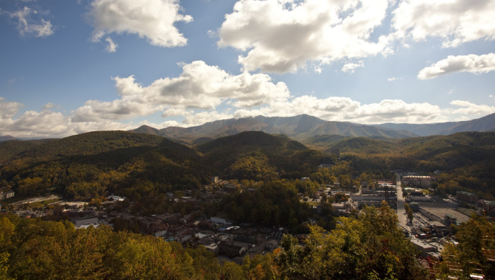 10) Get your fill of beauty at Ober Gatlinburg