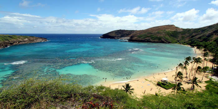 10) You can see Oahu's famous Hanauma Bay in Elvis' 1961 film, Blue Hawaii.