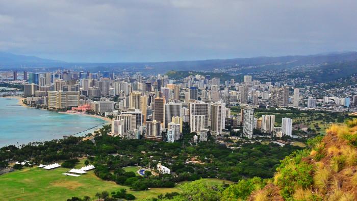 10) Honolulu, Oahu