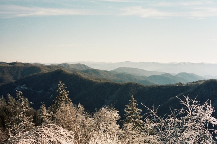 10) It's supposed to be a beautiful winter, so the Great Smoky Mountains are a must for a March date