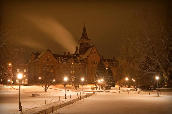 10.  University of Vermont, Burlington.