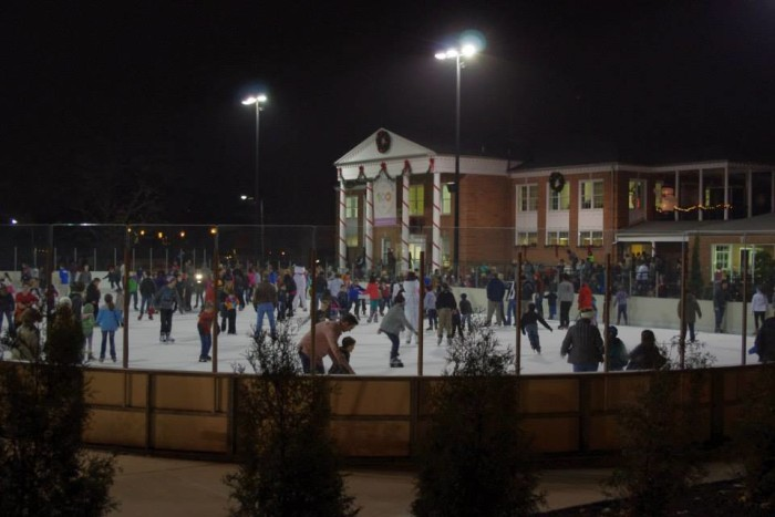 10.	Shaw Park Ice Rink, Clayton