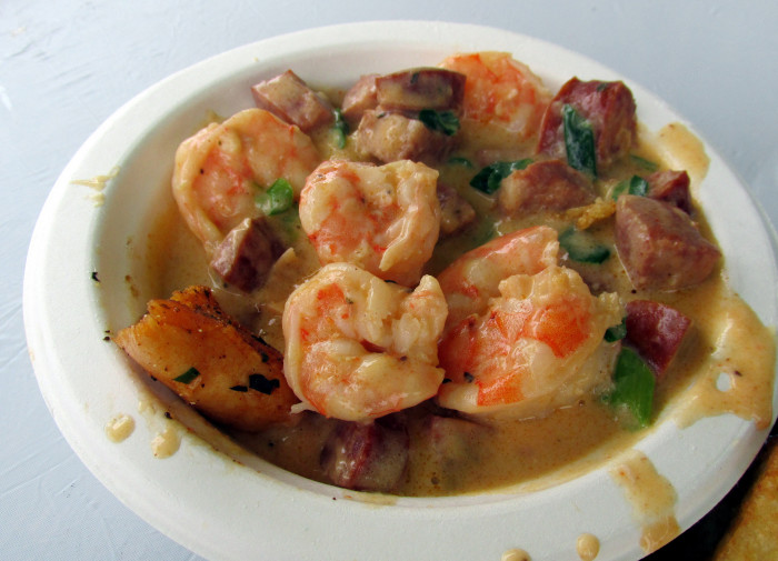 1. Shrimp and Grits