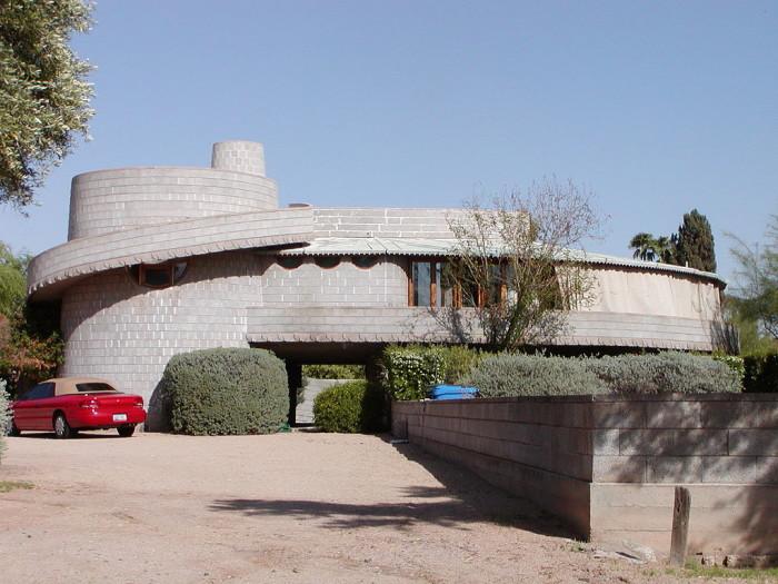 3. David & Gladys Wright House, Phoenix