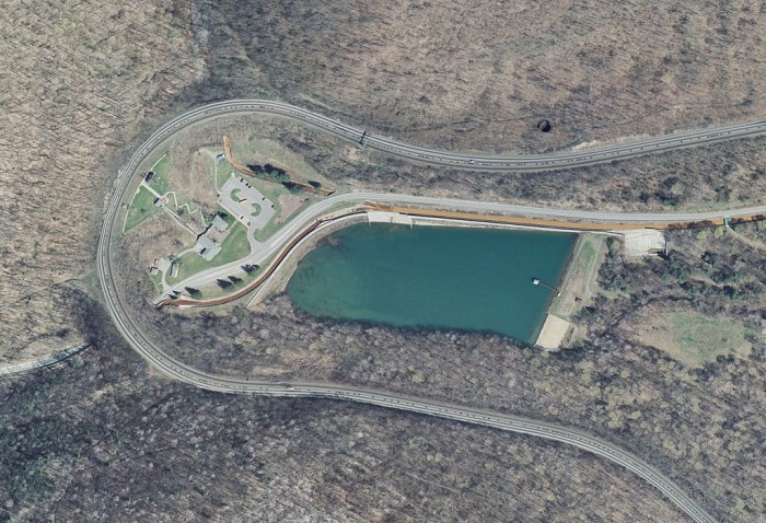 11. Horseshoe Curve in Blair County was targeted by Nazi Germany during World War II.
