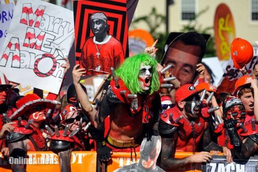 7. We're a little extreme when it comes to collegiate football...just roll with it.