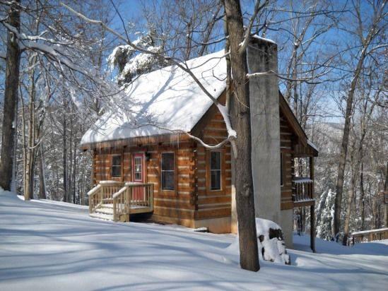 1. Cabin in the Blue Ridge Mountains - taken in January 2015.