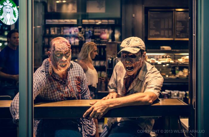 6. Zombie apocalypse, of course.