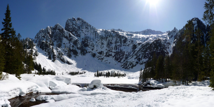 1. Heather Lake Trail, near Granite Falls