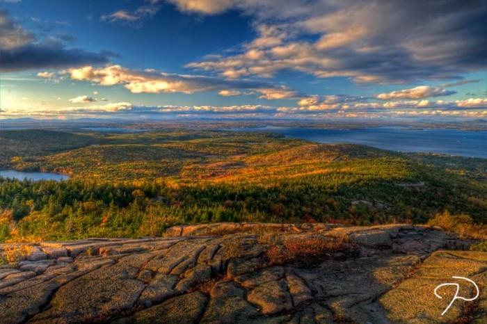 17. Cadillac Mountain in Acadia National Park.