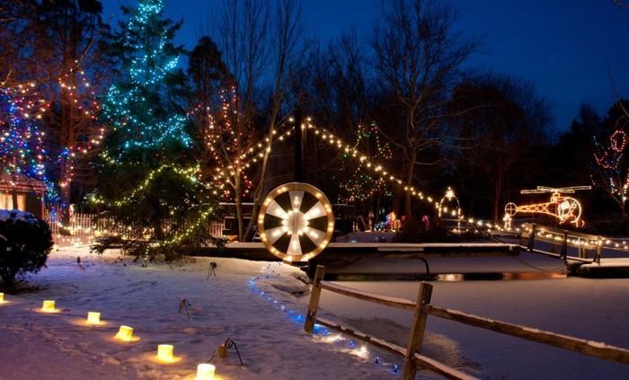 Stake Christmas Lights