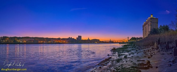 20. Low Tide on the Savannah River by Doug Neunberger