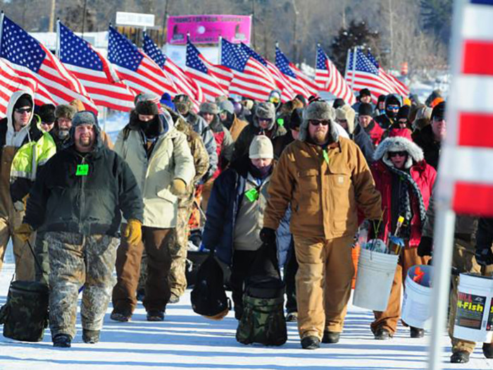 9. Brainerd Jaycees $150,000 Ice Fishing Extravaganza