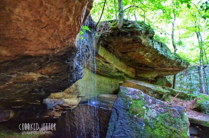 10. Tishomingo State Park Waterfalls
