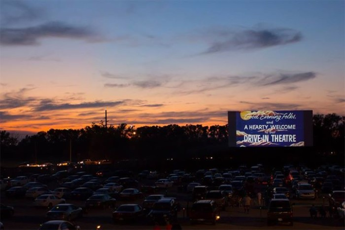 11. Take the family to the drive-in.