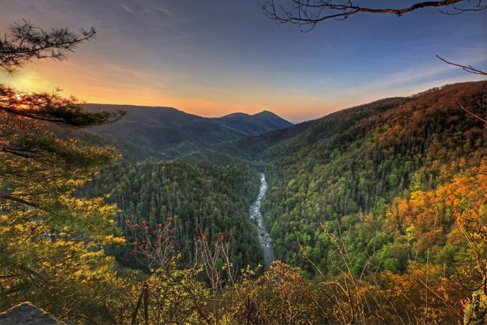 6. Good morning from Linville Gorge by Danny Buxton Photography.