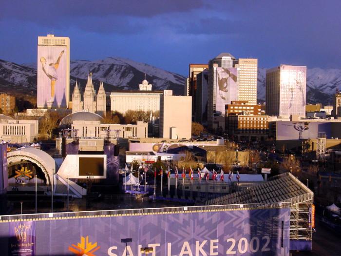 10. The 2002 Winter Olympics