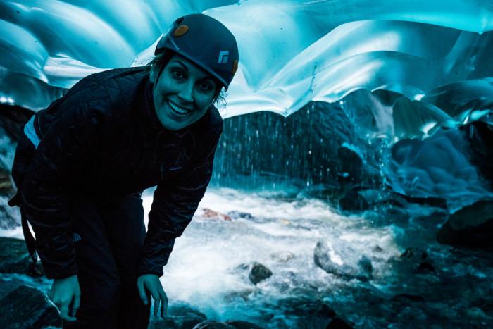 2) Ice caves!