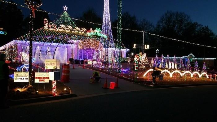 5. The Ludy's Christmas Light Spectacular - 5784 Ironstone Drive Columbus, Georgia