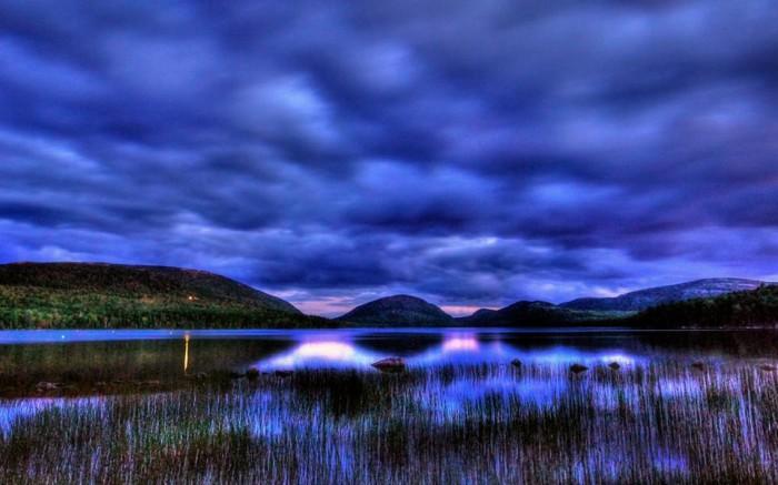 29. Eagle Lake at twilight