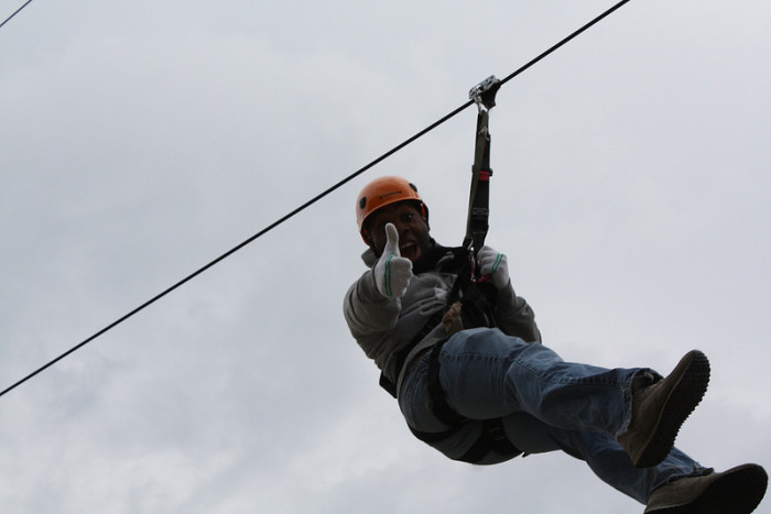 11.  Get your adrenalin going on a ZipTour Adventure.