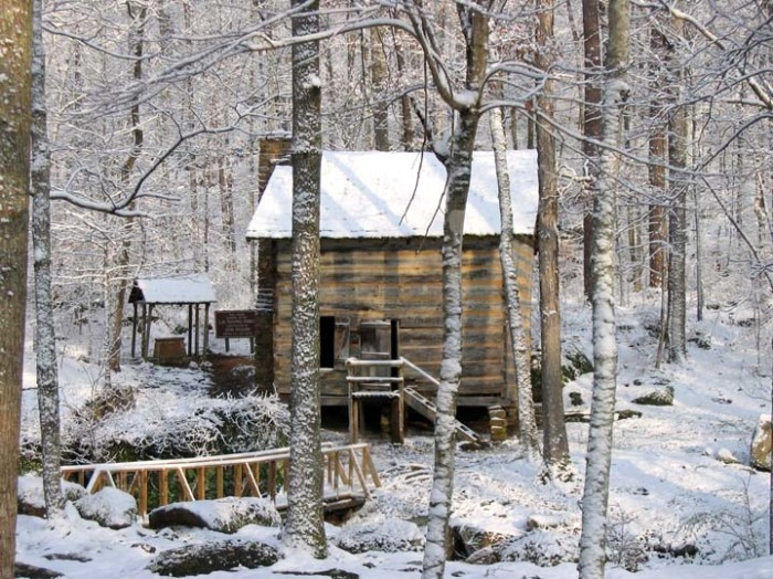 11. The breathtaking scenery at Tishomingo State Park looks even more stunning covered in powdery snow.