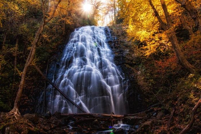 8. Autumn at Crabtree Falls by Matthew Paulson.