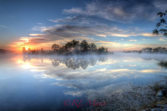 2. This sunrise in Lehigh Acres was shot by Rick Mann.