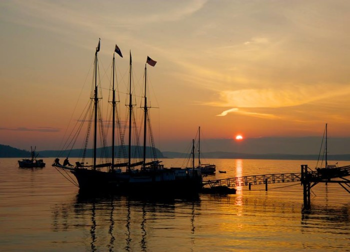 1. You can never have too many Bar Harbor sunrises on your screen.